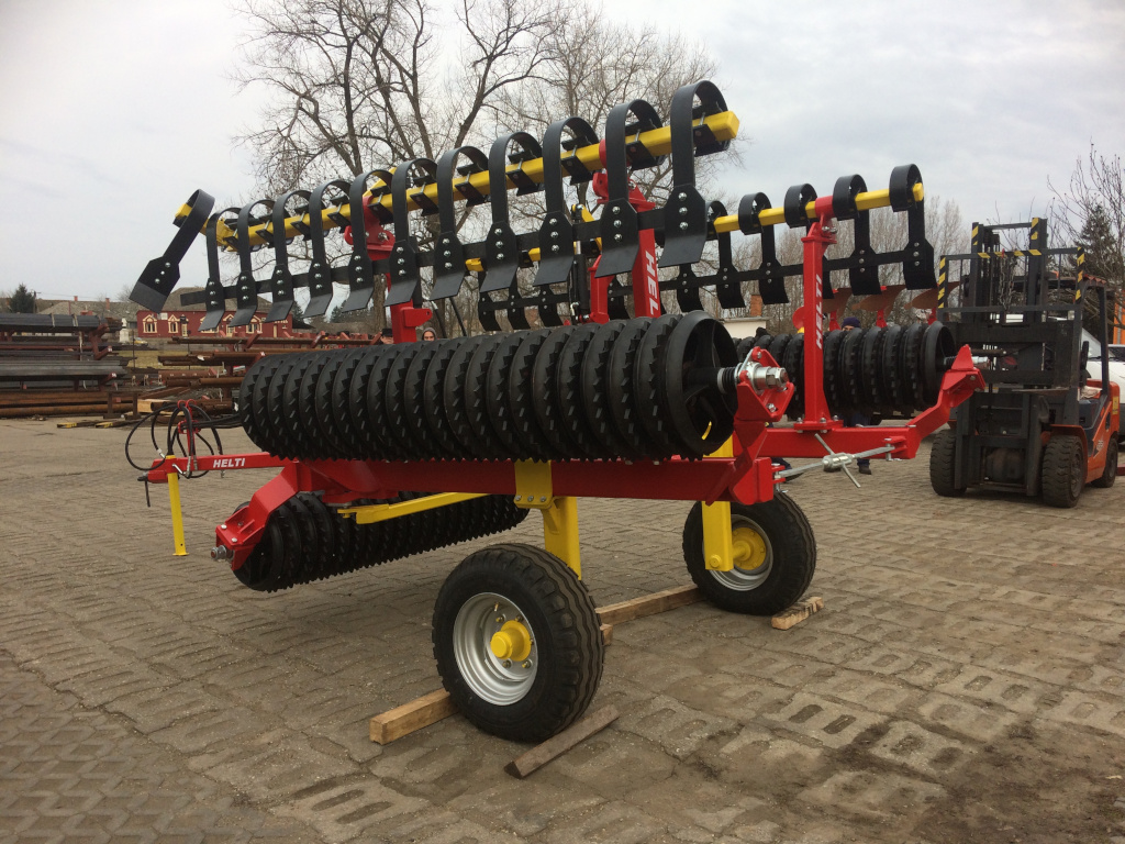 HELTI LANDROLL 6,2m Cambridge hengerrel